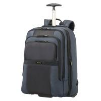 "Samsonite Infinipak Laptop Backpack Wheels 17.3"" Expandable Blue/Black"