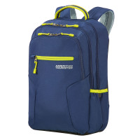 """American Tourister Urban Groove UG6 Laptop Backpack 15.6"""" True Navy/ Lime"""