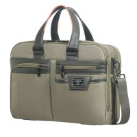 "Samsonite Zenith Bailhandle 15.6"" Expandable Taupe"
