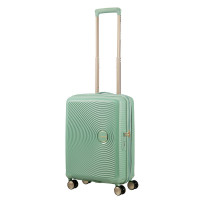 American Tourister Soundbox Spinner 55 Exp. Almond Green/Gold