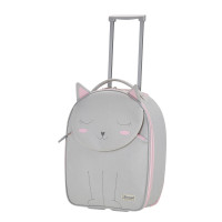 Samsonite Happy Sammies Upright 45 Kitty Cat