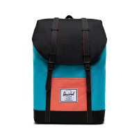 Herschel Retreat Rugzak Blue Bird/Black/Emberglow