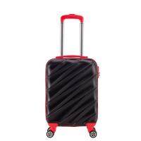 Decent Lumi Fix Handbagage Koffer 55 Black/Red