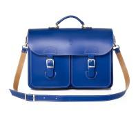 OldSchool Bags Schooltas Extra Large Kobalt Blauw