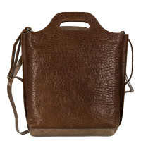 Myomy My Carry Bag Shopper Medium Bubble Brandy