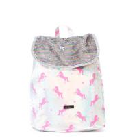 Spiral Liberty Backpack Silver-Pink Unicorns