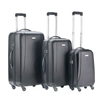 CarryOn Skyhopper 3-Delige Kofferset Black
