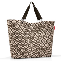 Reisenthel Shopper XL / Strandtas Diamonds Mocha