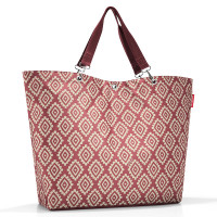 Reisenthel Shopper XL / Strandtas Diamonds Rouge