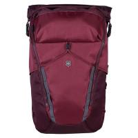 Victorinox Altmont Active Deluxe Rolltop Laptop Backpack Burgundy