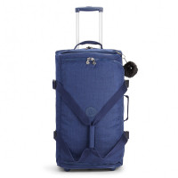 Kipling Teagan M Wheels Cotton Indigo