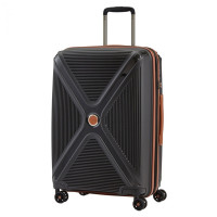 Titan Paradoxx 4 Wheel Cabin Trolley M Expandable Black