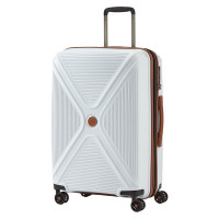 Titan Paradoxx 4 Wheel Cabin Trolley M Expandable White