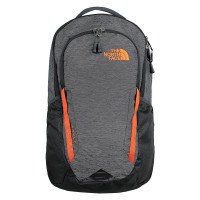 The North Face Vault Backpack TNF Dark Grey Heather/Persian Orange