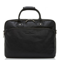 Castelijn & Beerens Firenze Business 3-Vaks Laptoptas 15.6'' Zwart 9473