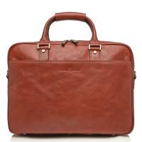 Castelijn & Beerens Verona Business RFID Laptoptas 15.6'' Licht Bruin 9472