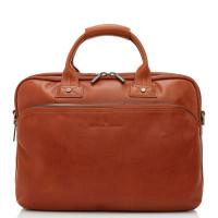Castelijn & Beerens Firenze Business 3-Vaks Laptoptas 15.6'' Licht Bruin 9473