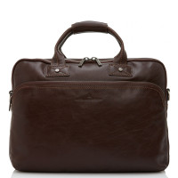 Castelijn & Beerens Firenze Business 3-Vaks Laptoptas 15.6'' Mocca 9473