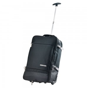 CarryOn Daily Trolley Backpack Expandable Black