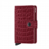 Secrid Mini Wallet Portemonnee Nile Ruby